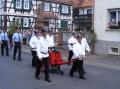 Die Weckesheimer in historischrn Uniformen