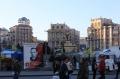 Der Maidan gleicht einer Zeltstadt, ...