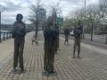 Famine Memorial.