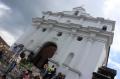 Die Kirche Santo Tomas.