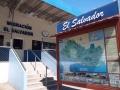Hier der Grenzuebergang nach El Salvador.