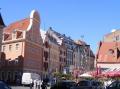 Die Altstadt wurde nach dem Krieg (1945)...