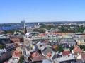Blick auf die Altstadt ...