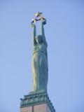 Diese Statue aber ist das Markenzeichen der Unabhängigkeit nach dem ersten Weltkrieg.