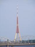 Das hier ist der Rigaer Fernsehturm.