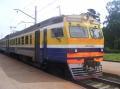 Mit der Bahn nach Jurmala.