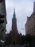 Eine der vielen protestantischen Kirchen. Die orthodoxen sind bonders innen schöner.
