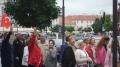 Vor der türkischen Botschaft.