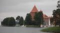 zur Wasserburg Trakai.