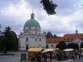 Die Hauptstrasse in der Neustadt