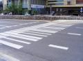 Warschau ist die Stadt Chopins - man beachte den Zebrastreifen.