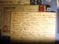Postkarte aus dem KZ Auschwitz: mir geht es gut ....